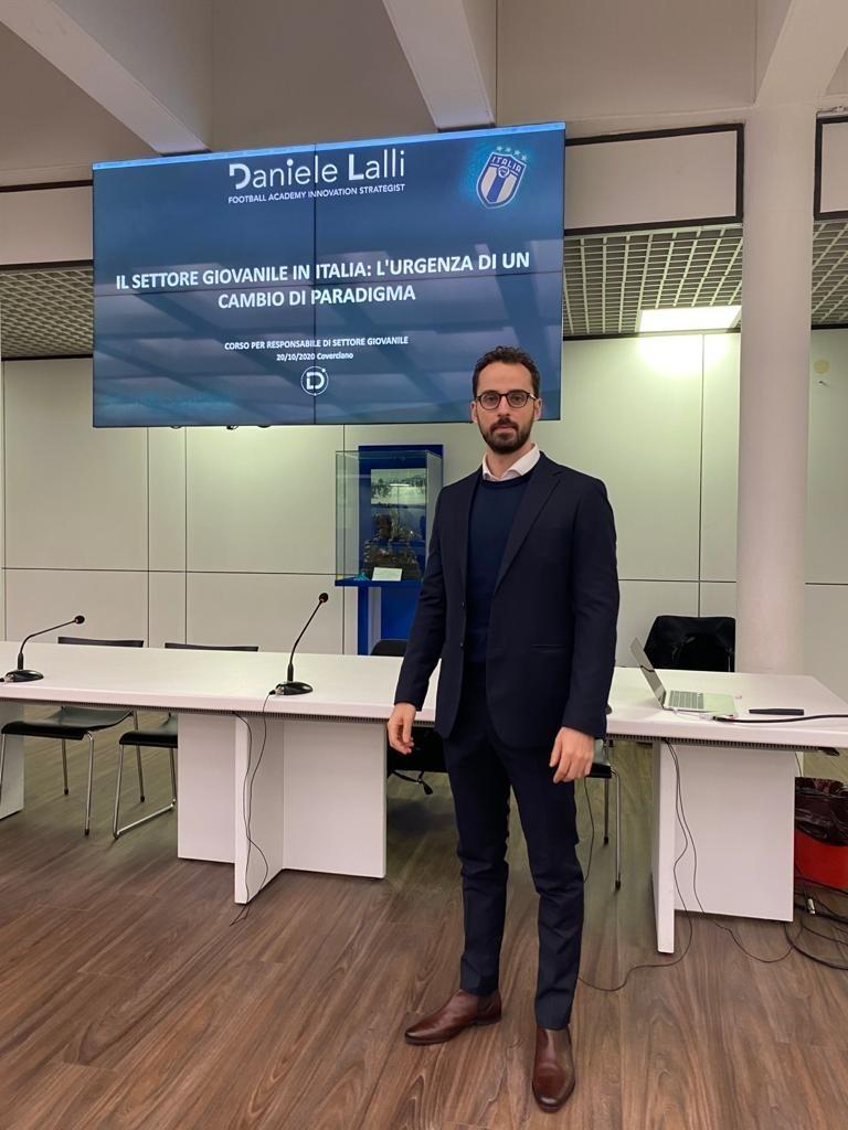 Docente al Corso FIGC per Responsabili di Settore Giovanile